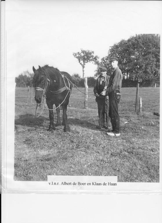 Albert de Boer en Klaas de Haan