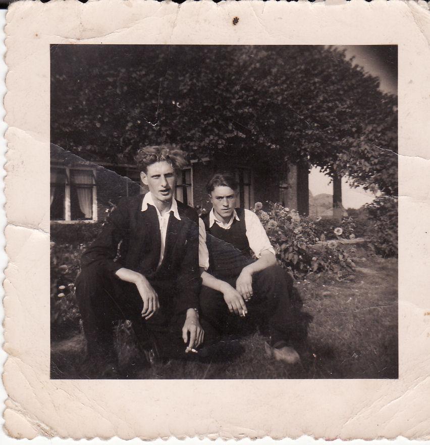 Tjeerd Kloosterman en Wierd de Vries