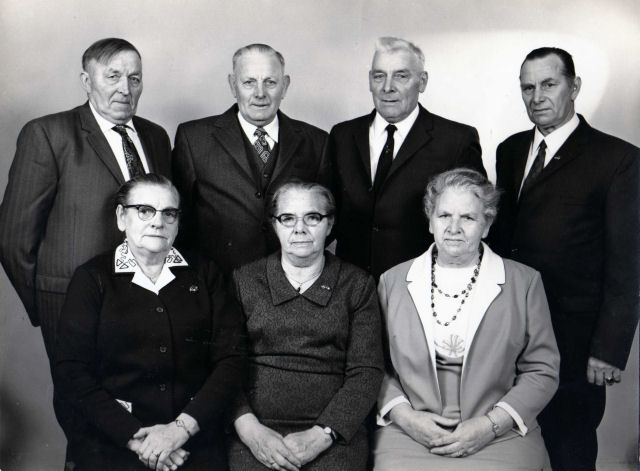 bruorren en susters Hooijenga 1972