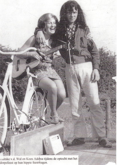 Goitske van der Wal en Koos Adema